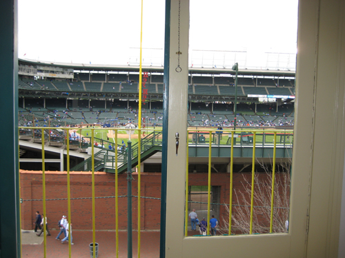 Wrigley Done Right 3rd Floor View into Wrigley Field