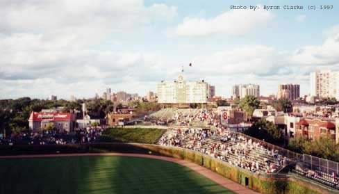 Wrigley Field, circa 1997