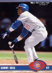 Slammin' Sammy Sosa had tons of power in the late '90s