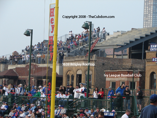 The Ivy League Baseball Club and 3639 Wrigley Rooftop are currently under construction.
