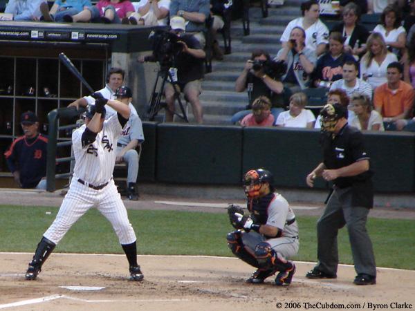 Jim Thome at bat