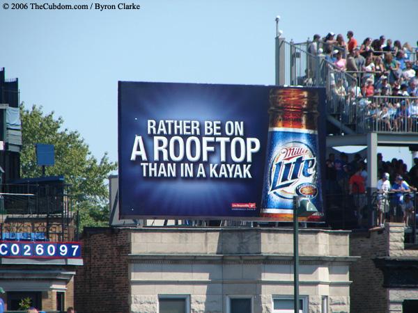 Miller Lite Billboard