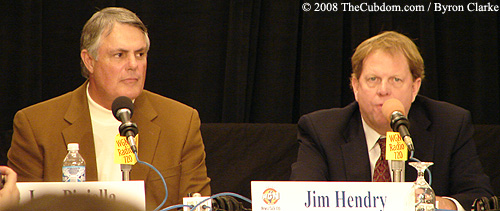 Jim Hendry and Lou Piniella