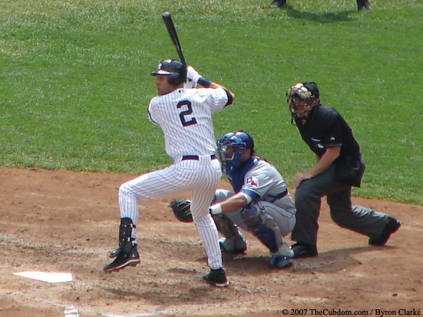 Derek jeter swinging