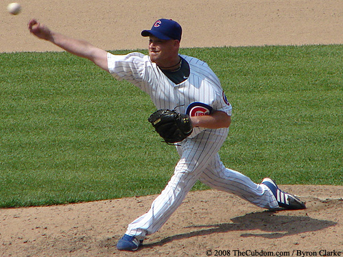 Chad Gaudin pitching