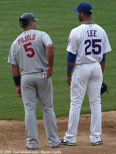 Derrek Lee and Albert Pujols