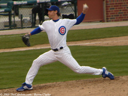 Neal Cotts pitching