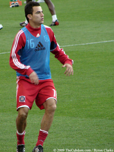 Marco Pappa of the Chicago Fire